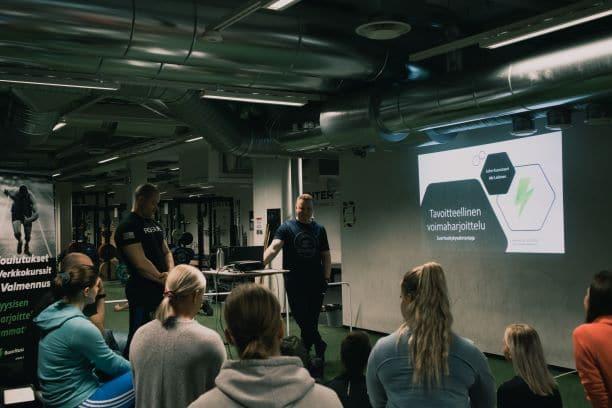 Koulutus OP Centerillä Helsingissä