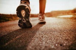 Juoksuharjoittelua